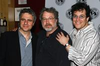 Neil Pepe, Tom Pulse and Michael Mayer at the Atlantic Theater Company's Spring Awakening.