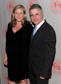 Mary McCann and Neil Pepe at the Atlantic Theater Company's 25th Anniversary Spring Gala.