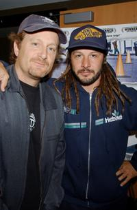 Stacy Peralta and Tony Alva at the New York premiere of