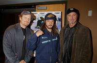 Stacy Peralta, Tony Alva and Producer Jay Wilson at the New York premiere of