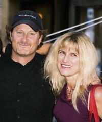 Stacy Peralta and Catherine Hardwicke at the premiere of