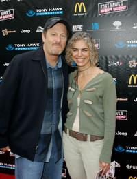 Stacy Peralta and Stephanie Adams at the Stand Up For Skate Parks To Benefit The Tony Hawk Foundation.