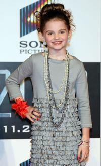 Morgan Lily at the Japan premiere of