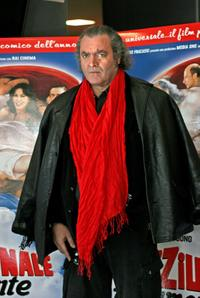 Diego Abatantuono at the photocall of