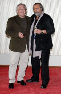 Gianni Cavina and Diego Abatantuono at the photocall of