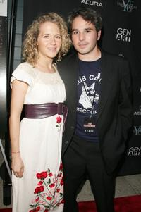 Dana Varon and Jeff Abrahmson at the premiere of