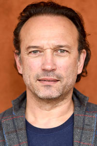 Vincent Perez attends the 2019 French Open in Paris.