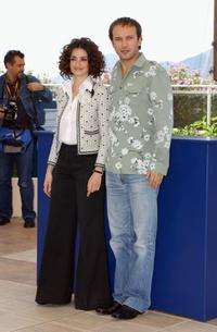 Penelope Cruz and Vincent Perez at the photocall of