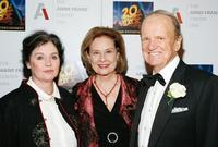 Millie Perkins, Diane Baker and George Stevens Jr. at the 13th Annual Spirit of Anne Frank Awards gala.