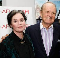 Millie Perkins and George Stevens Jr. at the AFI Cinema's Legacy screening of