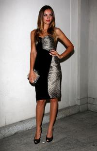 Kasia Smutniak at the VOGUE Fashion's Night Out.