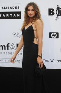 Kasia Smutniak at the Amfar auction.