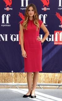 Kasia Smutniak at the 2009 Giffoni Film Festival.