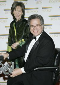 Itzhak Perlman and his Wife at the 27th Annual Kennedy Center Honors.