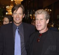 Kevin Sorbo and Ron Perlman at the 30th Annual Saturn Awards.