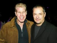 Ron Perlman and Jean-Pierre Jeunet at the after party of the screening of