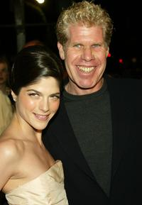 Selma Blair and Ron Perlman at the premiere of