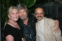 Valerie Perrine, Jeff Bridges and Joe Pantoliano at the Bauer Martinez Distribution Launch Party.