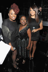 Ledisi, Sharon Jones and Marsha Ambrosius at the Friars Club and Friars Foundation Honors Tom Cruise in New York.