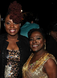 Ledisi and Sharon Jones at the backstage of VH1 Divas Celebrates Soul in New York.
