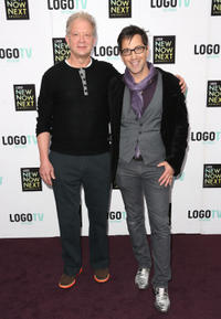 Jeff Perry and Dan Bucatinsky at the 2013 NewNowNext Awards.