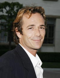 Luke Perry at the premiere of