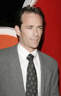 Luke Perry arrives at the NBC TCA Party.