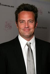 Matthew Perry at the Lili Claire Foundation 10th annual benefit dinner and auction.
