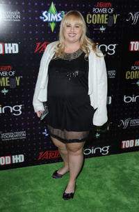 Rebel Wilson at the Variety's Power of Comedy in California.