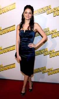 Lauren Leech at the premiere of