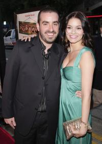 Joe Nussbaum and Lauren Leech at the premiere of