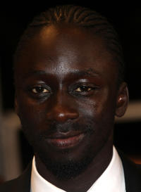 Diouc Koma at the premiere of