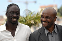 Diouc Koma and Emil Abossolo M'Bo at the photocall of