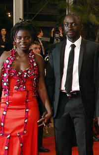 Djeneba Kone and Diouc Koma at the premiere of