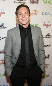Brandon Olive at the world premiere of