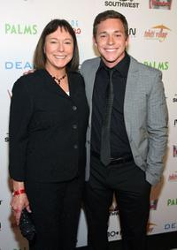 Debbie Olive and Brandon Olive at the world premiere of