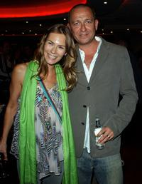 Sean Pertwee and his wife at the UK premiere of