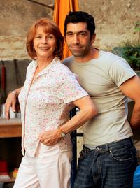 Senta Berger and Erdal Yildiz at the photocall of