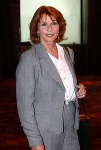 Senta Berger at the announcement ceremony for his Leukaemia Foundation.