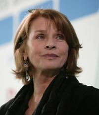 Senta Berger at the Frankfurt book fair.