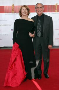 Senta Berger and husband Michael Verhoeven at the German Film Award.