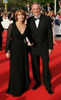 Senta Berger and Culture Minister Bernd Neumann at the German Film Awards.