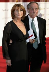 Senta Berger and Director Michael Verhoeven at the German Film Awards (Deutscher Filmpreis).