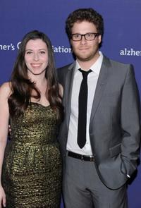 Lauren Miller and Seth Rogen at the 18th Annual