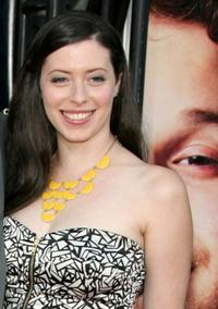 Lauren Miller at the premiere of