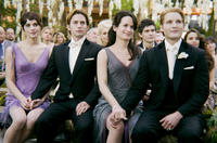 Ashley Greene, Jackson Rathbone, Elizabeth Reaser and Peter Facinelli in