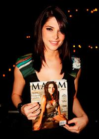 Ashley Greene at the December Maxim Issue with Ashley Greene.