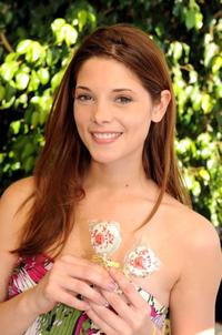 Ashley Greene at the 2008 DPA Garden Party gift suite.