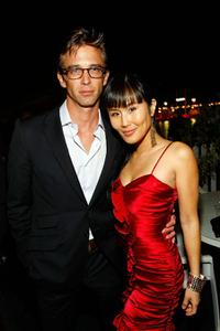 Ron Melendez and Minae Noji at the 62nd International Cannes Film Festival.