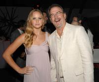 Jennifer Lawrence and Bill Engvall at the 2008 Summer TCA Tour Turner party.